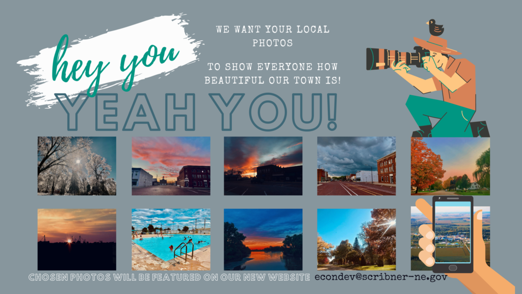 We want your local photos for our new website