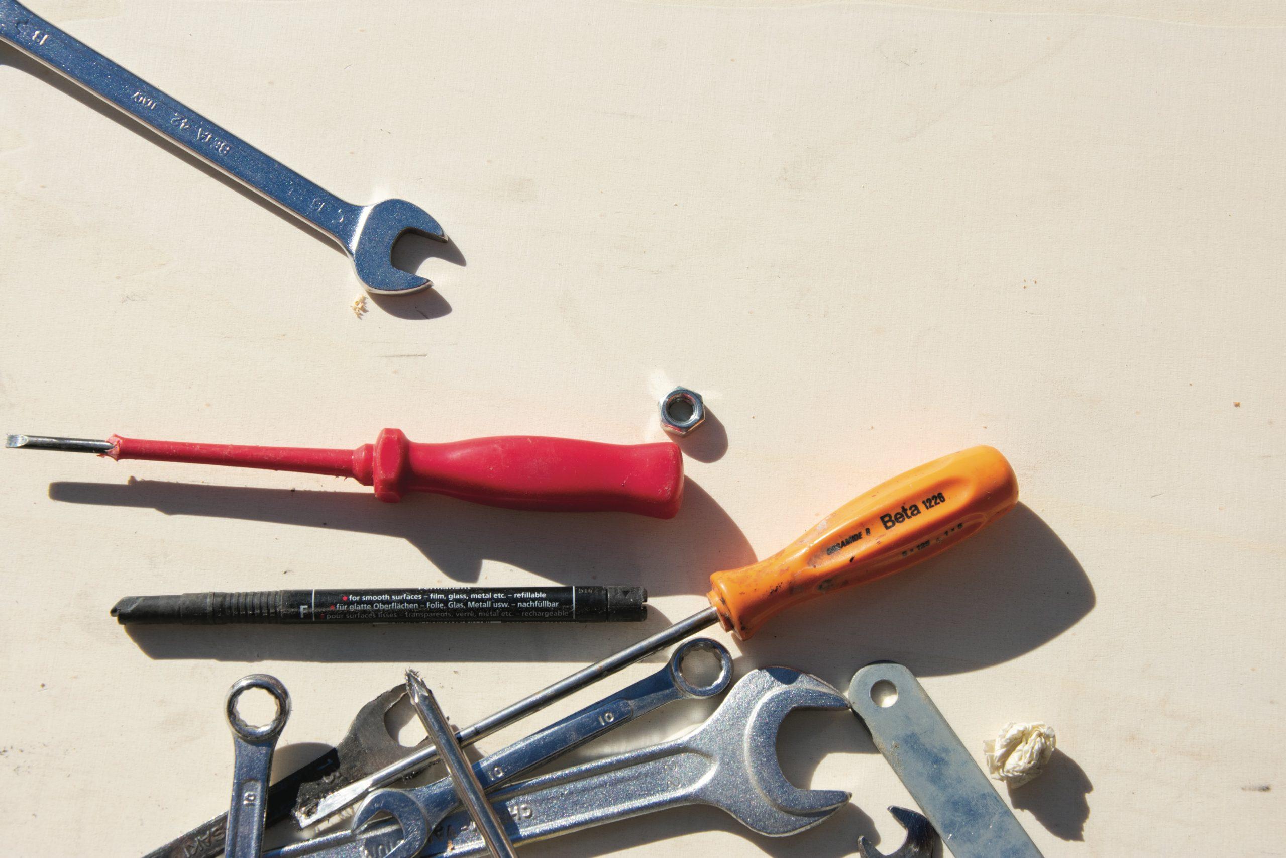 generic photo of tools